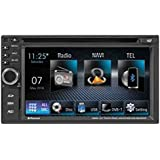 'Phonocar vM058 Moniteur 6,2 TFT-LCD 2 Din Navigation DVD Media Station d'autoradio