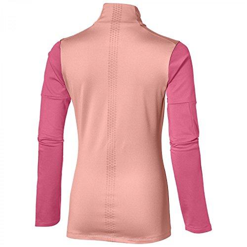 Asics Lite-Show T-Shirt Femme CAMELION ROSE