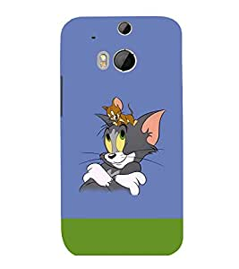 printtech Tom & Jerry Back Case Cover for HTC One M8::HTC M8