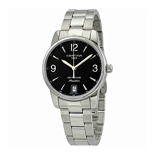 Certina Women's DS Podium 33mm Steel Bracelet Quartz Watch C034.210.11.057.00