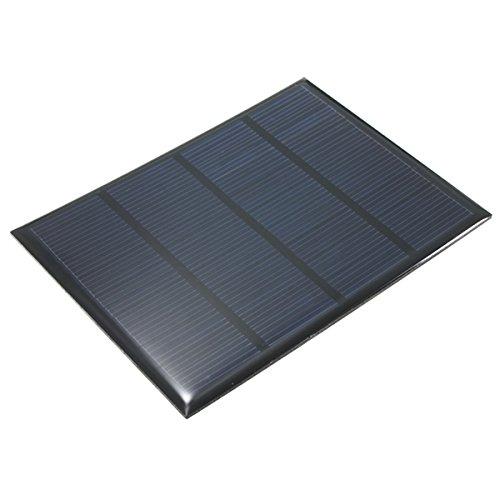 Características: el panel solar de 12V 1.5 w Alto índice de conversión, salida de la eficacia alta Efecto de luz débil excelente Conveniente para cargar el teléfono móvil y las pequeñas baterías de la c.c. Construya sus modelos accionados DIY, exhib...