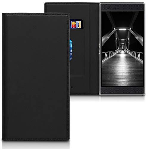kwmobile Razer Phone 2 Hülle - Kunstleder Handy Schutzhülle - Flip Cover Case für Razer Phone 2