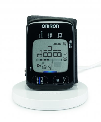 OMRON RS8 - Tensiómetro de muñeca, color negro