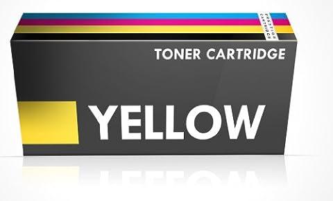 Prestige Cartridge CF402X 201X Cartouche de toner compatible avec Imprimante HP Color Laserjet Pro M252dw/M252n/MFP M277dw/MFP M277n, Jaune