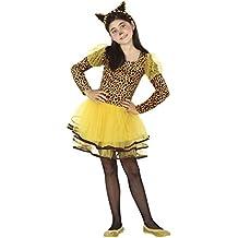 Atosa - Disfraz de leopardo para niña, talla M, 5-6 años (111-26495)
