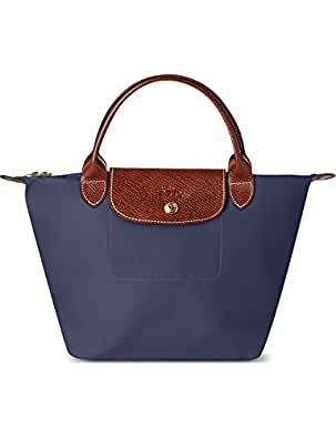 longchamp damen tote tasche blau marineblau. Black Bedroom Furniture Sets. Home Design Ideas