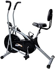 Body Gym Stamina Air Bike With Back Support