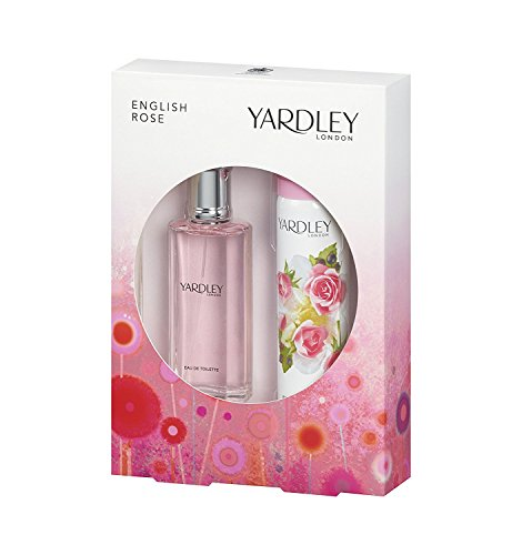 Yardley English Rose Geschenkset 50ml EDT + 75ml Body Spray