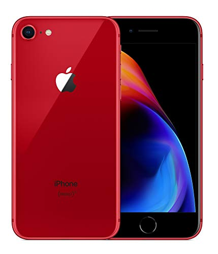 Apple iPhone 8  - Smartphone (11,9 cm (4.7'), 1334 x 750 Pixeles, 64 GB, 12 MP, iOS 11, Rojo)