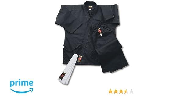 Unisex Polycotton Medium-Weight Fabric White Student Karate Suit//Gi//Uniform NCAT-01 M.A.R International Ltd 8oz + FREE BELT