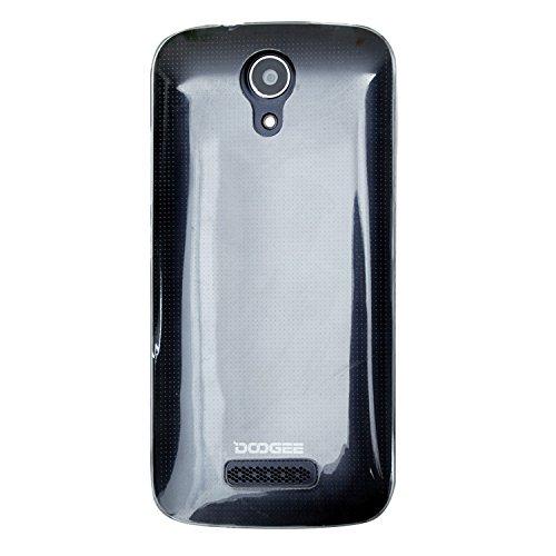 Guran® Weiche Silikon Hülle Cover für Doogee X3 Smartphone Bumper Case Schutzhülle-Transparent weiß