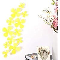 Macxy - 12pcs / Lot Kreative 3D-PVC-Blumen-Wand-Aufkleber Acrylwandaufkleber für Kinderzimmer Küche TV-Wand-Aufkleber-Ausgangsdekor... preisvergleich bei billige-tabletten.eu