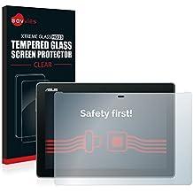 Savvies Protector Cristal Templado Asus ZenPad 10 Z300C / Z300CG / Z300CL / Z300M Protector Pantalla Vidrio - Dureza 9H