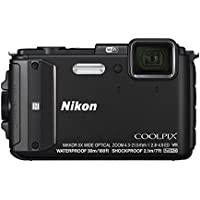 Nikon Coolpix AW130 Digitalkamera (16 Megapixel, 5-fach opt. Zoom, 7,6 cm (3 Zoll) OLED-Display, USB 2.0, bildstabilisiert) schwarz