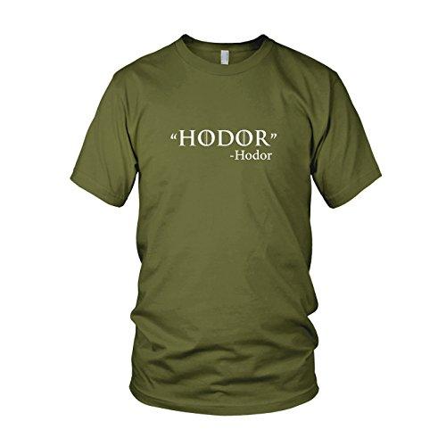 GoT: Zitat - Herren T-Shirt, Größe: XL, Farbe: army