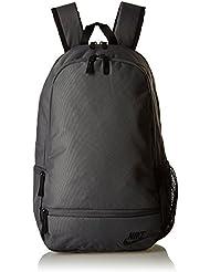 Nike Classic North Solid Mochila, Unisex adulto, Negro (Dark Grey / Black), Única
