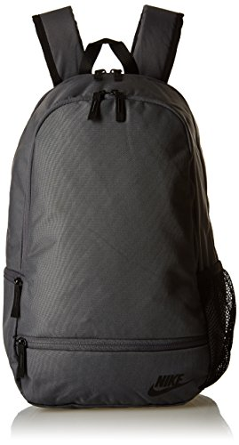 Nike Classic North Solid Mochila, Unisex adulto, Negro (Dark Grey / Black), Única