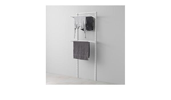 Ikea algot wandschiene wäschehalter aufbewahrungssystem; in weiß