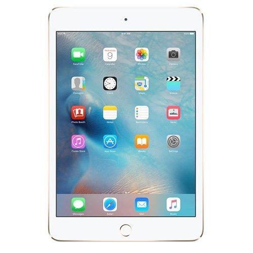 Apple iPad Mini 4 Tablet (7.9 inch, 128GB, Wi-Fi+4G) Gold