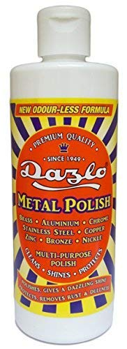 Dazlo® Metal Polish - 3x100g - For Brass, Copper, Stainless Steel, Chrome, Aluminium etc.