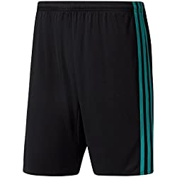 adidas H Sho Pantalón Corto Línea Real Madrid, Hombre, Rojo (Negro / Arraer), S