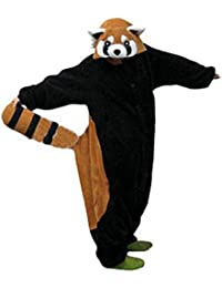 Anbelarui® Women's Ladies Men's Adult Unisex Fleece Animal Onesies Novelty Pyjamas Nightwear Xmas Halloween Costumes