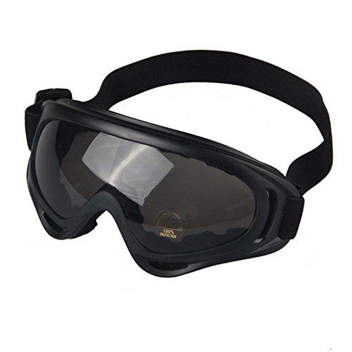 JTENG Motorrad Goggle Motocross skibrille Sportbrille Wind Staubschutz Fliegerbrille Snowboardbrille Schneebrille Skibrille Wintersport Brille Dirtbike Off-Road Schutzbrille Radsportbrille