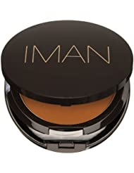 Iman Cosmetics Poudre Compacte Clay-Medium Dark