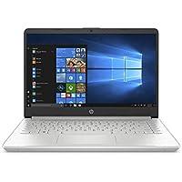 """HP-PC 14s-dq1006nl Notebook, Intel Core  i5-1035G1, RAM 8 GB, SSD 512 GB, Grafica UHD Intel, Windows 10 Home, Schermo 14"""" FHD Antiriflesso, Lettore Impronte Digitali, USB-C, Lettore Micro SD, Argento"""