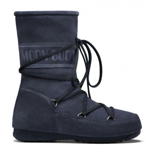 MOON BOOT - MOON BOOT W.E. CAVIAR MID - DOPOSCI DONNA -BLU - 24000500015 - EU 41