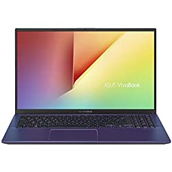 "Asus VivoBook S S512UA-EJ641T PC Portable 15"" FHD (Intel Core i3-7020U, RAM 8Go, HDD1 1TB 54R + 128Go SSD, Windows 10) Clavier AZERTY Français"