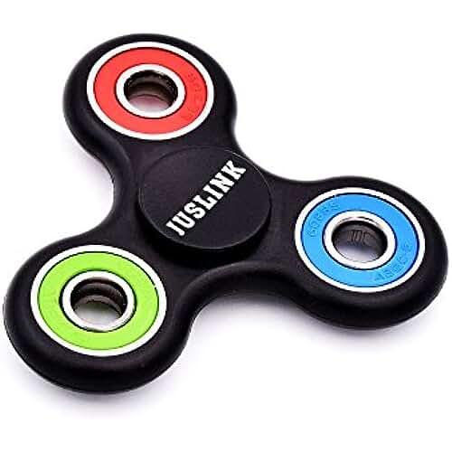 fidget spinner el nuevo juguete de moda Juslink Tri Fidget Spinner de Dedo para Niños Adultos ADHDs, Juguete Sensorial