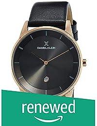 (Renewed) Daniel Klein Fiord-Gents Analog Gunmetal Dial Men's Watch - DK11698-3