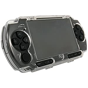 PSP Slim & Lite – Crystal Stand Case, transparent