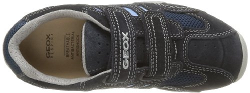 Geox JR SNAKE BOY B J42G7B01422C0693 Jungen Sneaker, Blau (NAVY/LT BLUE C0693), EU 32 -