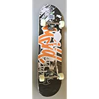 Bollinger SHN-32B Skateboard, Unisex Adulto, Negro, Talla Única