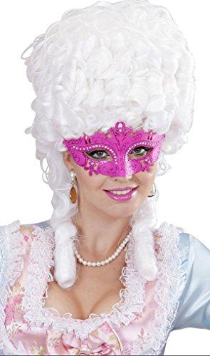 WIDMANN Mascara veneciana rosa con brillo adulto Cualquier día