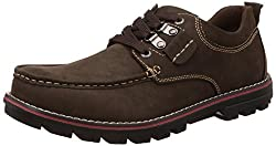 Action Shoes Mens Coffee Sneakers - 9 UK/India (43 EU)(C21-3122)