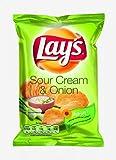 Lays Kartoffelchips Sour Cream & Onion | 27,5g Beutel
