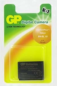 GP Batterie de type Nikon EN-EL 12 pour Appareil Photo Numérique Nikon