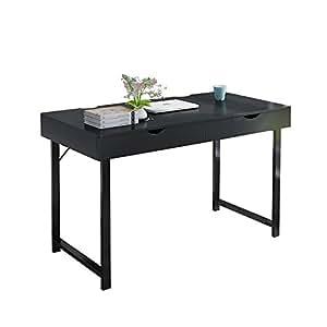 bureau d 39 ordinateur de soges 120 cm en bois bureau domicile bureau d 39 criture station d 39 tude. Black Bedroom Furniture Sets. Home Design Ideas