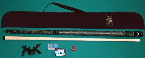 Set STARTER, Ahorn Pool Billard Queue, Tasche / Zubehör