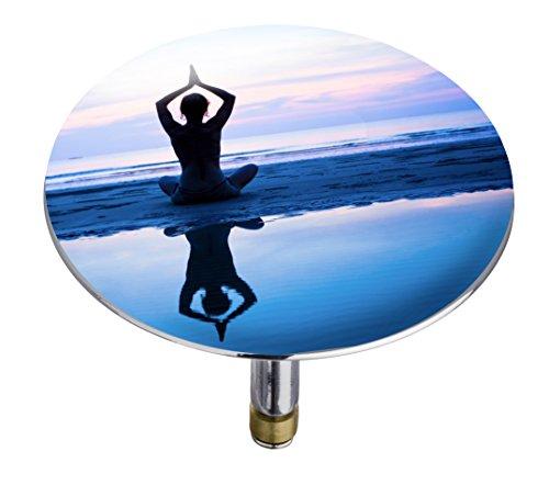 Wenko 21838100 Badewannenstöpsel Pluggy XXL Relax, Abfluss-Stopfen, für alle handelsüblichen Abflüsse, Kunststoff, 7,5 x 6 x 7,5 cm, mehrfarbig