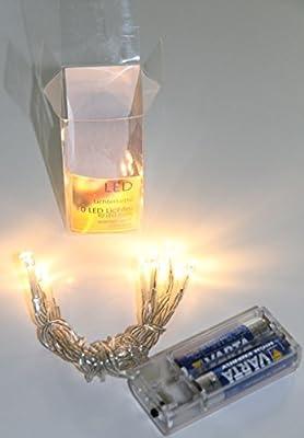 RoHS Lichterkette 10 LED LIchtkette 1,5m für Batterie