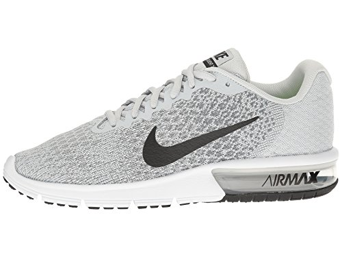 Nike Air Max Sequent 2 Laufschuhe Runningshoes Schuhe für Damen Hellgrau (Pure Platinum/Cool Grey/Wolf Grey/Black)