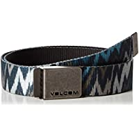 Volcom polyurethanenk cintura Web Belt Gift Set, da latte Colors, taglia unica, D5931617AST
