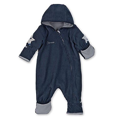 Sterntaler Baby Fleece Overall Anzug marine 5501702 (74, marine)