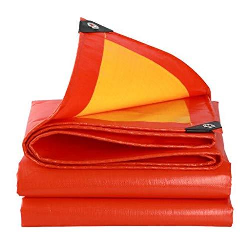 Preisvergleich Produktbild zyy Planenplane,  Wasserfest Und Reißfest,  Doppelte Polyethylenplane - Orange (größe : 4.8m*7.8m)
