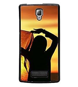 ifasho Designer Back Case Cover for Lenovo A2010 (Girl Budapest Hungary Girl Virgin)