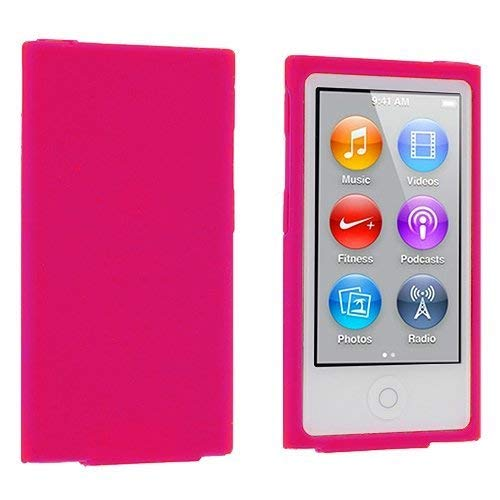 aniceseller (TM) Farbe Silikon Weich Gummi Gel Skin Schutzhülle Für iPod Nano 7th Generation 7 G 7